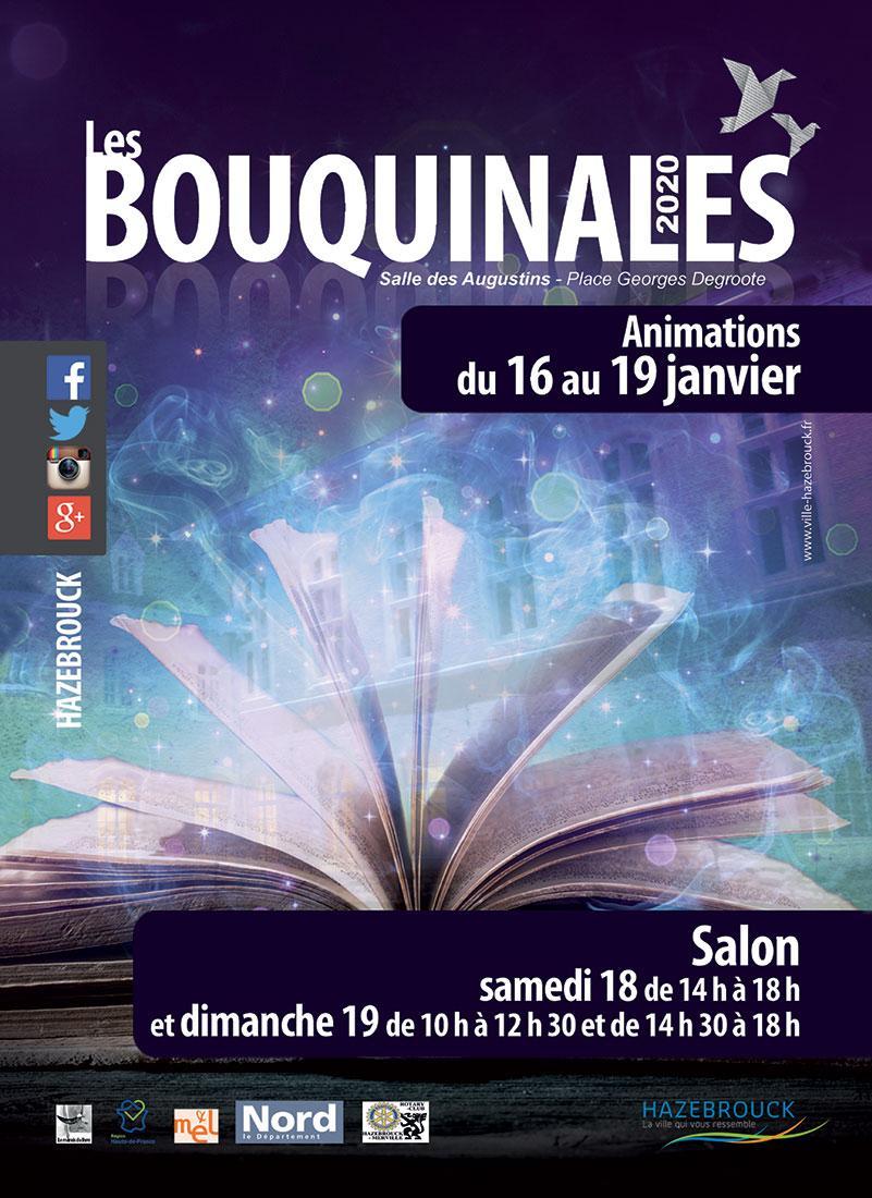 Carte postale recto 2020 bouquinales 1100