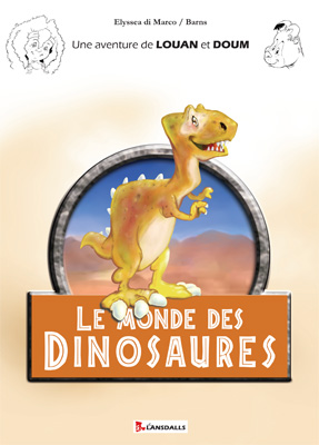Couverture louandom lemondedesdinosaures