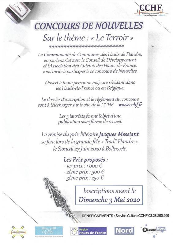 Jacques messiant prix litteraire