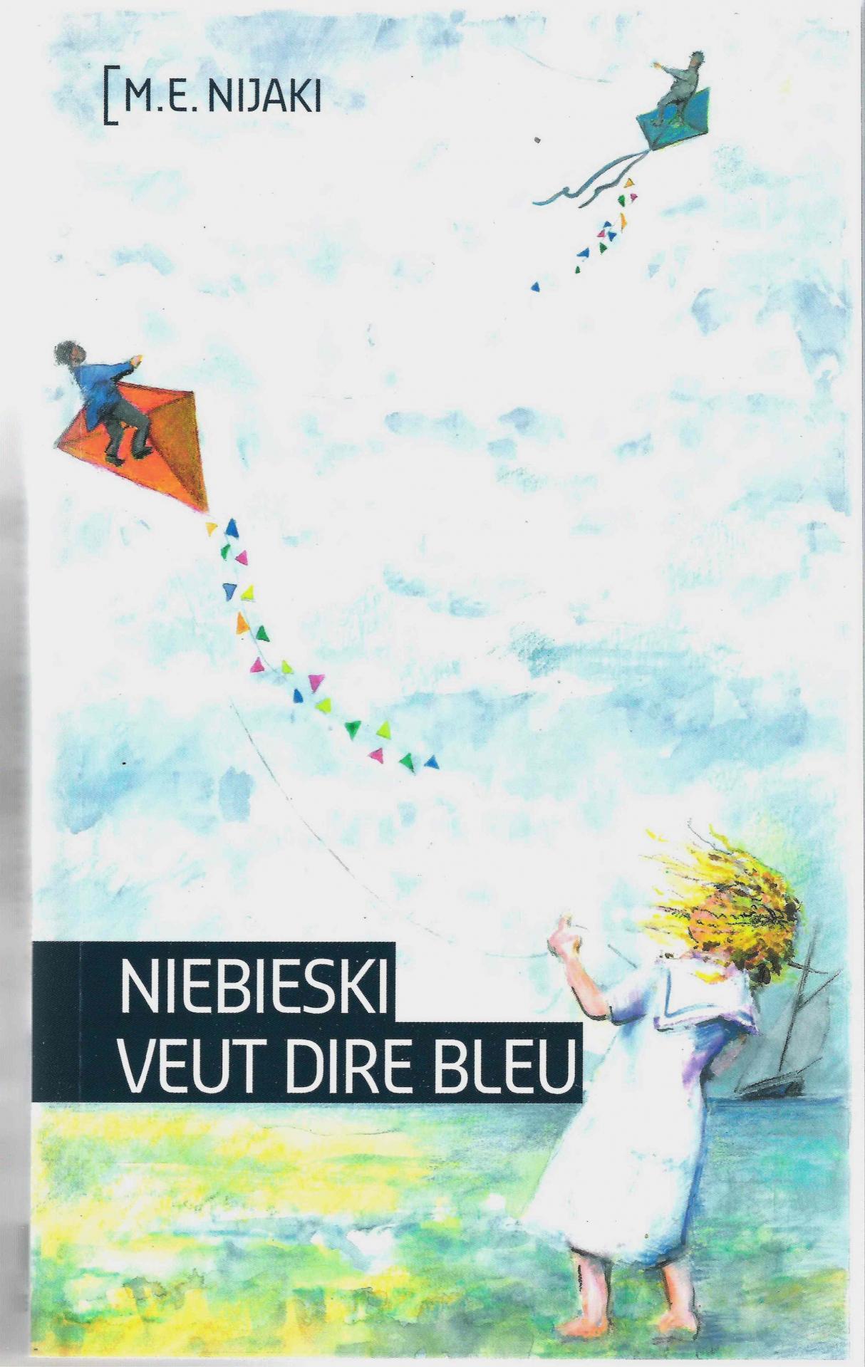 Niebieski veut dire bleu couverture